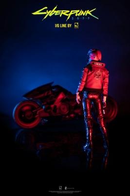 CYBERPUNK 2077 - V Female & Yaiba Kusanagi Set Actionfigur Pure Arts