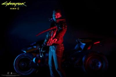 CYBERPUNK 2077 - V Male & Yaiba Kusanagi Set Actionfigur Pure Arts