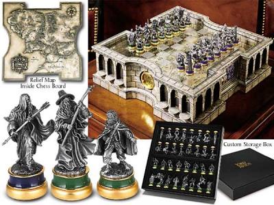 HERR DER RINGE - Schach Set Noble Collection