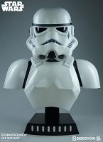 STAR WARS - Stormtrooper 1/1 Life Size Büste 68 cm Sideshow