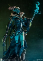 COURT OF THE DEAD - Xiall Osteomancers Vision PVC Statue Sideshow