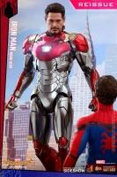 SPIDERMAN HOMECOMING - Iron Man Mark XLVII Reissue Diecast Actionfigur Hot Toys