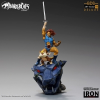 THUNDERCATS - Lion-O & Snarf Deluxe Art Scale 1/10 Statue 43 cm Iron Studios