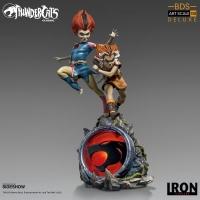 THUNDERCATS - WilyKit & WilyKat Deluxe Art Scale 1/10 Statue 22 cm Iron Studios