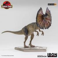 JURASSIC PARK - Dilophosaurus Art Scale 1/10 Statue 18 cm Iron Studios