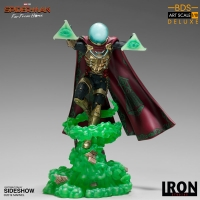 SPIDER MAN: FAR FROM HOME - Mysterio DELUXE BDS Art Scale 1/10 Statue Iron Studios