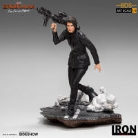 SPIDER MAN: FAR FROM HOME - Maria Hill BDS Art Scale 1/10 Statue Iron Studios