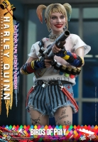 BIRDS OF PREY - Harley Quinn Caution Tape Jacket Version 1/6 Actionfigur Hot Toys