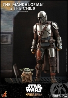 STAR WARS : MANDALORIAN - Mandalorian & The Child Doppelpack 1/6 Actionfigur Hot Toys