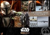 STAR WARS : MANDALORIAN - Mandalorian & The Child Doppelpack 1/6 Actionfigur Hot Toys