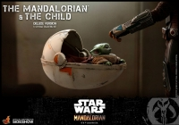 STAR WARS : MANDALORIAN - Mandalorian & The Child DELUXE 1/6 Actionfigur Hot Toys