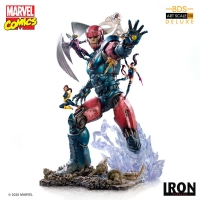 MARVEL COMICS - X-Men Vs Sentinel #3 DELUXE BDS Art Scale 1/10 Statue Iron Studios