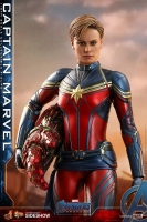 AVENGERS : ENDGAME - Captain Marvel 1/6 Actionfigur 29 cm Hot Toys