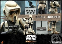 STAR WARS : MANDALORIAN - Scout Trooper 1/6 Actionfigur Hot Toys