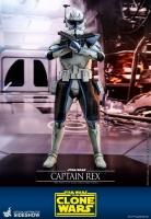 STAR WARS : THE CLONE WARS - Captain Rex 1/6 Actionfigur 30 cm Hot Toys