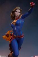 AVENGERS ASSEMBLE - Captain Marvel 1/5 Statue 41 cm Sideshow