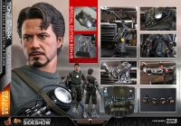 IRON MAN - Tony Stark Mech Test DELUXE Version 1/6 Actionfigur Hot Toys