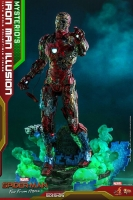 SPIDERMAN : FAR FROM HOME - Mysterio's Iron Man Illusion 1/6 Actionfigur Hot Toys