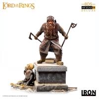 HERR DER RINGE - Gimli BDS Art Scale Statue 21 cm Iron Studios