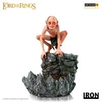 HERR DER RINGE - Gollum Deluxe Art Scale Statue 12 cm Iron Studios