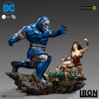 DC COMICS - Wonder Woman Vs Darkseid Diorama by Ivan Reis 1/10 Statue 54 cm Iron Studios