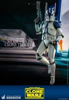 STAR WARS : THE CLONE WARS - 501st Battalion Clone Trooper DELUXE 1/6 Actionfigur Hot Toys