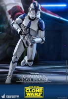 STAR WARS : THE CLONE WARS - 501st Battalion Clone Trooper 1/6 Actionfigur Hot Toys