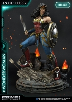 INJUSTICE 2 - Wonder Woman DELUXE 1/4 Statue 52 cm Prime 1
