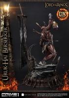 HERR DER RINGE - Uruk Hai Berserker DELUXE 1/4 Statue 93 cm Prime 1