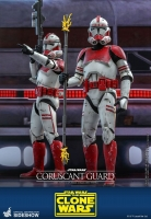 STAR WARS : CLONE WARS - Coruscant Guard 1/6 Actionfigur Hot Toys