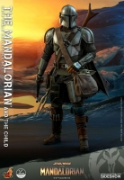 STAR WARS : MANDALORIAN -  Mandalorian & The Child 1/4 Actionfigur Hot Toys