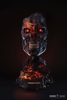 TERMINATOR 2  - T-800 Endoskelett 1/1 Maske Battle Damaged Version Pure Arts
