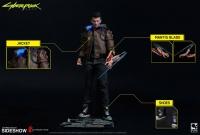 CYBERPUNK 2077 - Male V Actionfigur 30 cm Pure Arts