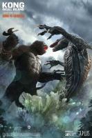 KONG : SKULL ISLAND - Kong vs Skull Crawler DELUXE Statue 32 cm Star Ace