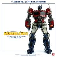 TRANSFORMERS : BUMBLEBEE - Optimus Prime DLX Actionfigur 28 cm ThreeZero