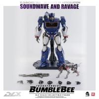 TRANSFORMERS : BUMBLEBEE - Soundwave & Ravage Doppelpack DLX Actionfigur ThreeZero