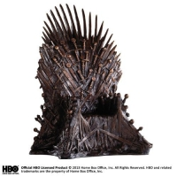 GAME OF THRONES - Eiserner Thron Bronze Statue 36 cm Noble Collection
