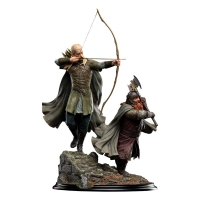 HERR DER RINGE - Legolas and Gimli at Amon Hen 46 cm Weta