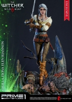 WITCHER 3 : WILD HUNT - Ciri of Cintra EXCLUSIVE Statue 69 cm Prime 1