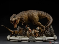 JURASSIC PARK - The Final Scene Demi Art Scale 1/20 Statue 48 cm Iron Studios