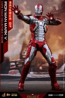 IRON MAN 2 - Iron Man Mark V Diecast 1/6 Actionfigur 32 cm Hot Toys
