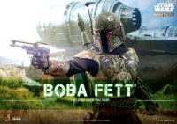 STAR WARS : MANDALORIAN -  Boba Fett 1/6 Actionfigur 30 cm Hot Toys