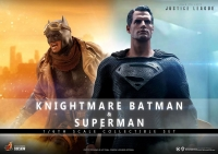 ZACK SNYDER´S JUSTICE LEAGUE - Knightmare Batman and Superman 1/6 Actionfigur Set Hot Toys