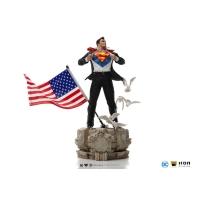 DC COMICS - Clark Kent (Superman) DELUXE Art Scale 1/10 Statue Iron Studios