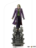 THE DARK KNIGHT - Joker DELUXE Art Scale 1/10 Statue 30 cm Iron Studios