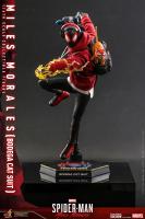SPIDERMAN : MILES MORALES - Miles Morales Bodega Cat Suit 1/6 Actionfigur Hot Toys