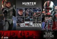STAR WARS : THE BAD BATCH - Hunter 1/6 Actionfigur 30 cm Hot Toys