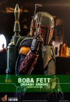STAR WARS : MANDALORIAN -  Boba Fett Repaint Armor 1/6 Actionfigur Hot Toys