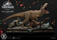 JURASSIC WORLD : FALLEN KINGDOM - T-Rex & Carnotaurus 1/15 Statue 90 cm Prime 1