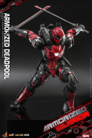 MARVEL COMICS - Deadpool Armorized 1/6 Actionfigur 33 cm Hot Toys